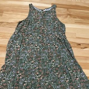 Old Navy tank dress, Sz L